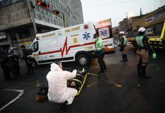 La Victoria: fiscalizadora resulta herida tras ser embestida por taxi que se pasó luz roja