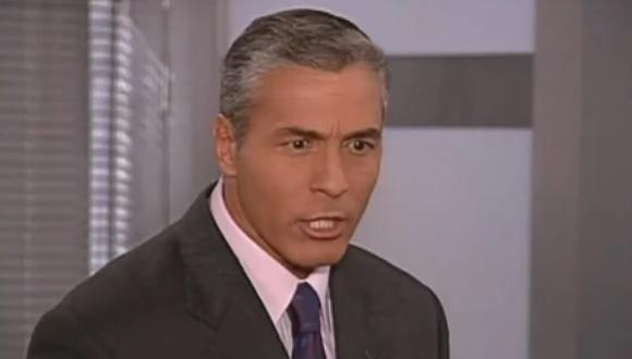 Javier Gómez interpretó al personaje de César Luis Freydell en 'Pedro, el escamoso' (Foto: Caracol Televisión)