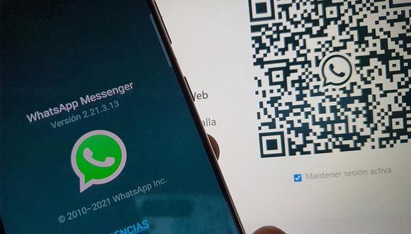 ¡Ya puedes iniciar sesión de WhatsApp Web sin necesidad de usar tu código QR! (Foto: MAG)