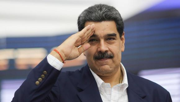 El presidente de Venezuela, Nicolás Maduro, participa en un acto de Gobierno en Caracas. (EFE/ Prensa Miraflores).