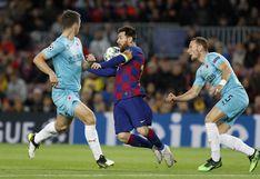 FC Barcelona igualó 0-0 ante Slavia Praga en el Camp Nou con Lionel Messi, por el Grupo F de Champions League