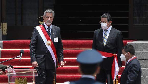 Trece generales de la PNP que pasaron al retiro interpusieron una acción de amparo ante el Segundo Juzgado Constitucional Transitorio de la Corte Superior de Justicia de Lima. (Foto: Britanie Arroyo / @photo.gec)