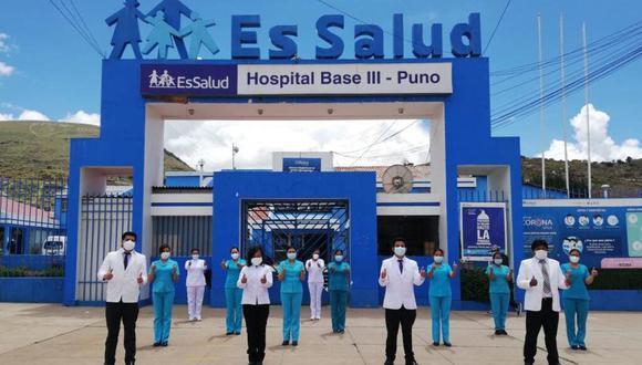 El 23 de marzo un médico del Hospital III de Puno fue agredido por un policía tras recibir la noticia de que su padre había fallecido de coronavirus. (FOTO: Essalud)
