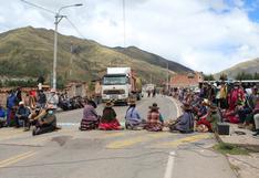 Cusco: bloquean principales vías de ingreso a la región debido a paro agrario de 24 horas
