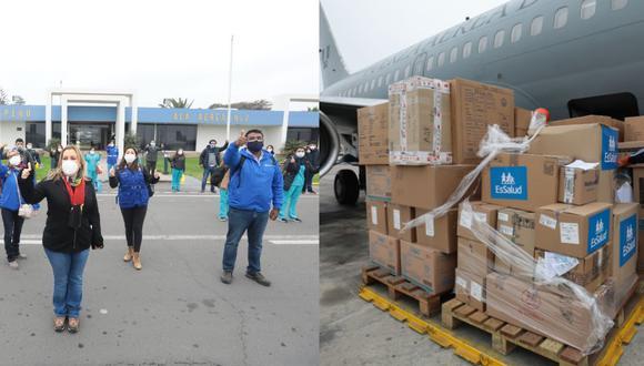 Tacna: Essalud llega a la región con 37 profesionales de la salud y 10 mil pruebas rápidas (Foto: Essalud)