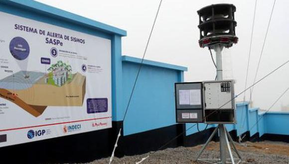 El funcionario señaló que desde el año pasado se ha trabajado en un 50% la instalación de los SASpe y esperan este 2021 se culmine con el resto (Andina)