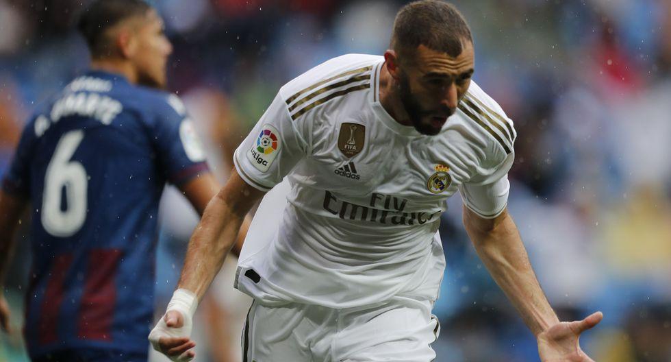 Real Madrid vs. Levante: mejores imágenes del partido. (Foto: AFP)