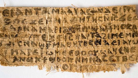 """El """"Evangelio de la esposa de Jesús"""" sí es un documento antiguo"""