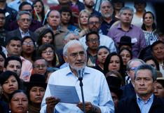 Bolivia: Mesa pide nuevas elecciones y renuncia de miembros del ente electoral