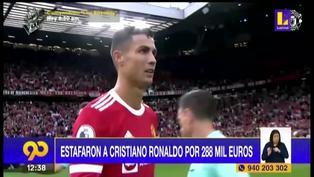 Cristiano Ronaldo fue víctima de estafa por más de 288 mil euros según un medio portugués