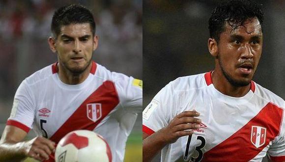 Carlos Zambrano y Renato Tapia están en Lima por Eliminatorias