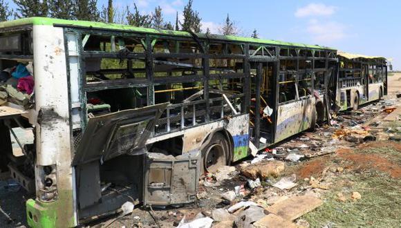 Siria: Más de 125 muertos por atentado con coche bomba en Alepo