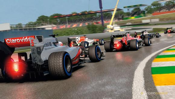 El videojuego F1 2014 se deja ver en nuevo video