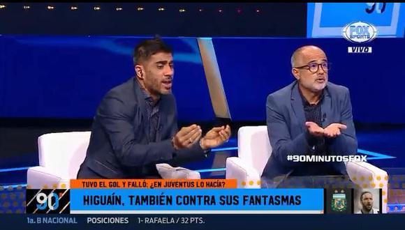 YouTube: periodista argentino explota al hablar de Higuaín