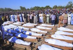 La ONU dice que el grupo terrorista Boko Haram pudo haber matado a por lo menos 110 agricultores en Nigeria