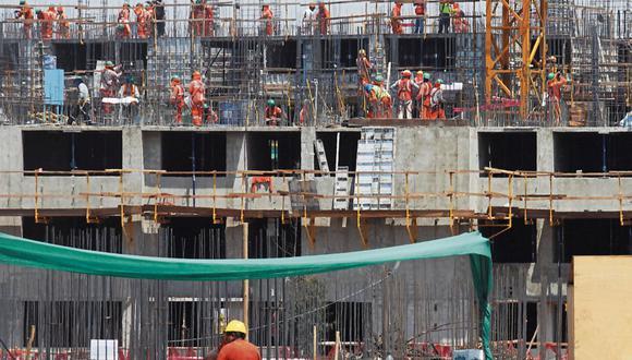 El sector construcción comienza a recuperarse. (Foto: Dante Piaggio | GEC)