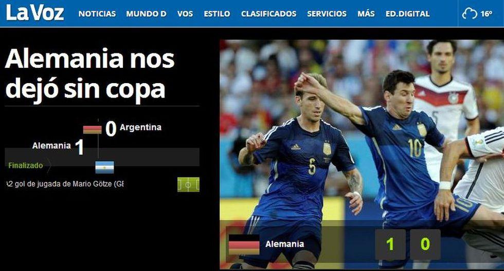 El dolor de Argentina en las portadas de sus diarios - 11