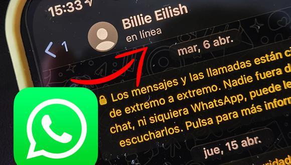 """Conoce el increíble truco para poder volver a ver si un amigo que te ha bloqueado en WhatsApp está """"en línea"""". (Foto: MAG)"""