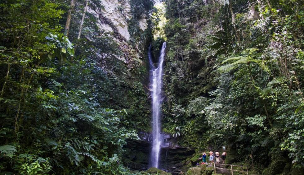 La catarata de Ahuashicaya es la más famosa de la ciudad. (Archivo / El Comercio)