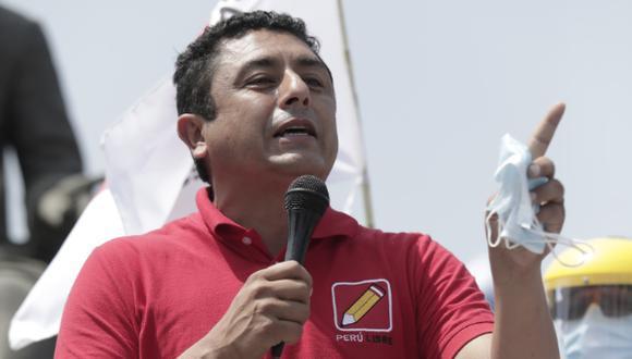 El electo congresista de Perú Libre está afrontando su segundo juicio por supuestos vínculos con la organización terrorista. (Foto: El Comercio)
