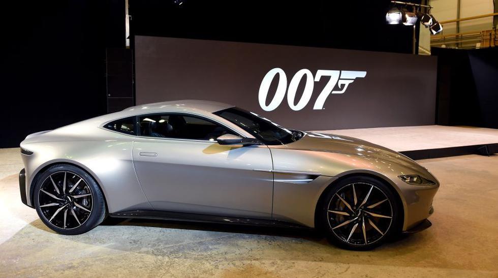 El Aston Martin DB10 es el auto de la marca inglesa fabricado exclusivamente para la próxima película de James Bond denominada Spectre. (Fotos: Difusión)