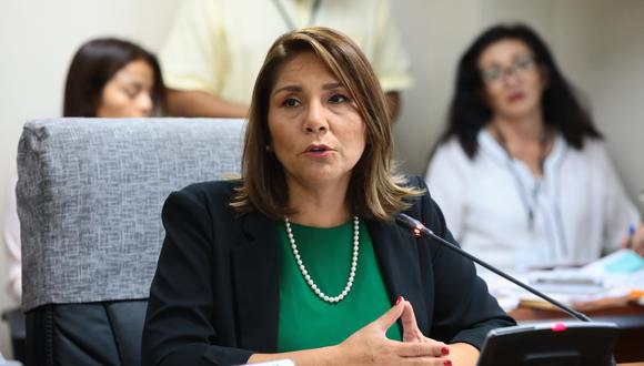 Paola Bustamante fue ministra de Desarrollo e Inclusión Social durante la gestión de Martín Vizcarra. (Foto: Congreso)