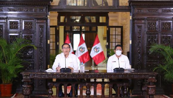 El presidente del Consejo de Ministros, Vicente Zeballos, cuestionó citación presencial del Legislativo. (Foto: Presidencia)