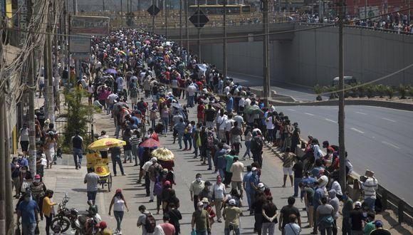 La cantidad de casos confirmados aumentó este lunes. (Foto: Anthony Niño de Guzman /GEC)