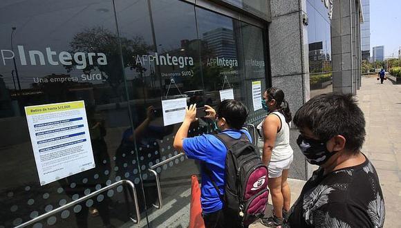 Son 3 millones de peruanos que solicitaron el retiro del 25% del fondo de AFP
