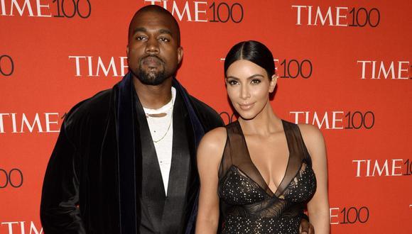 Kim Kardashian reveló que Kanye West donó un millón de dólares a diversas ONG como su regalo de cumpleaños. (Foto: EFE)