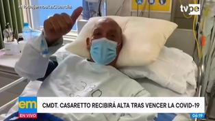Mario Casaretto será dado de alta del hospital Almenara tras vencer la COVID-19