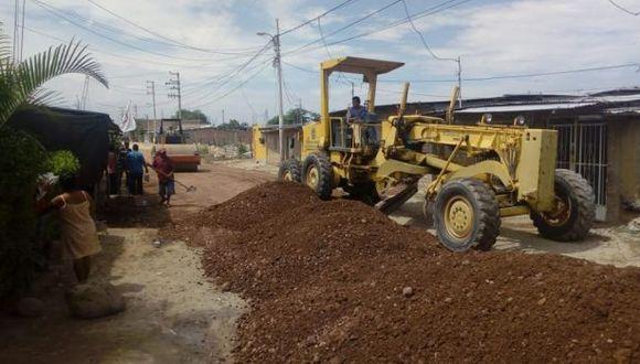 Piura: detectan irregularidades en obra de reconstrucción vial en Morropón