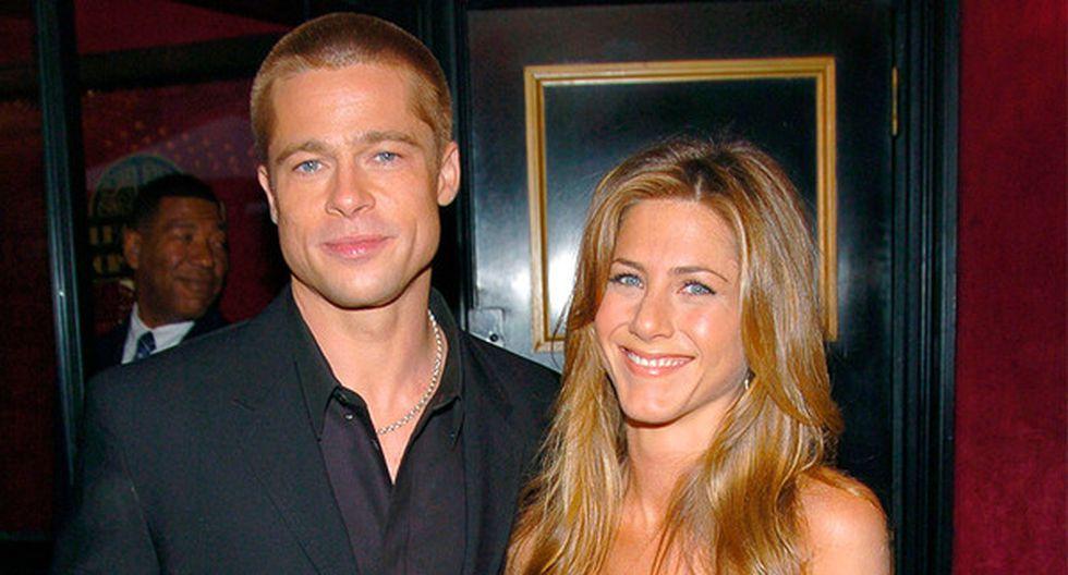 Jennifer Aniston y Brad Pitt en una premiación en 2003. Una nueva gala de premios los reunirá en el mismo lugar (Foto: AP)