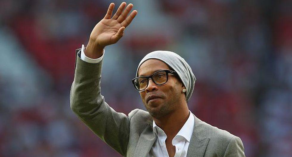 Ronaldinho anunció que el final de su carrera está muy cerca