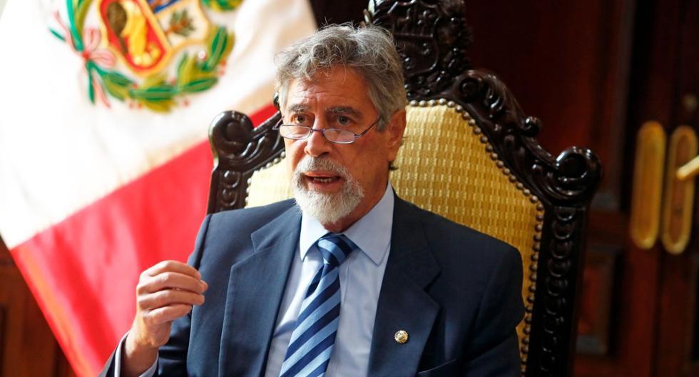 Los sectores críticos de la comunicación entre Sagasti y Vargas Llosa citan una presunta perturbación del proceso electoral por parte del presidente. (Foto: Twitter@presidenciaperu)