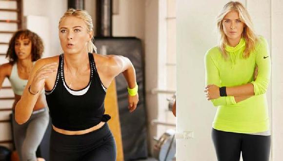 Belleza rusa: María Sharapova en su versión más deportiva