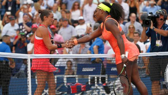 Golpe en el US Open: Vinci derrotó a Serena y jugará la final