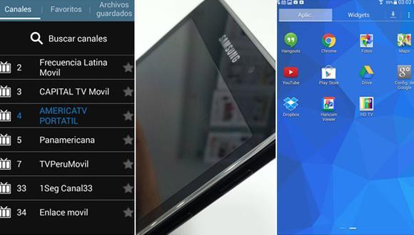 Galaxy Tab 4: una tablet que lo tiene todo, hasta TV digital