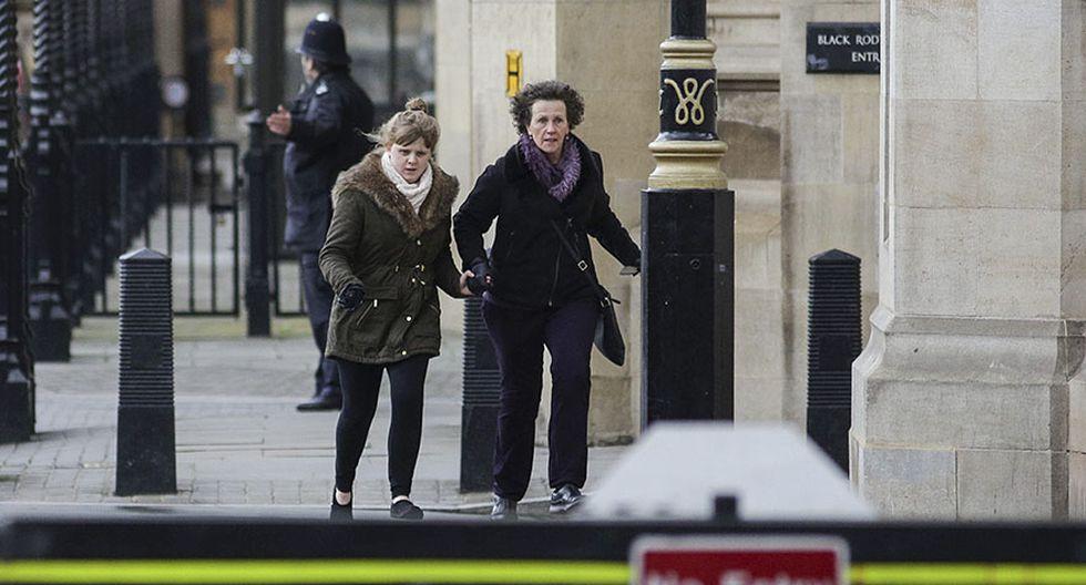 Pánico por ataque terrorista en el centro del poder británico - 5