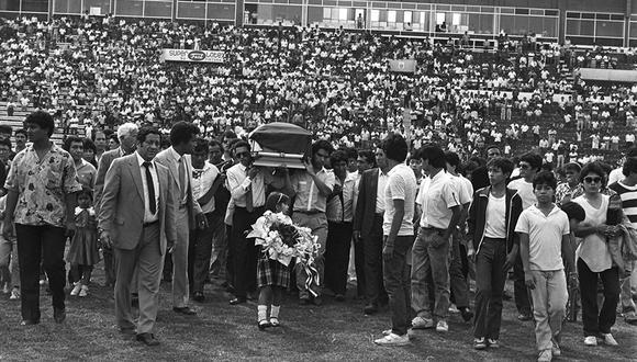 Así fue el último adiós a los 'potrillos' de Alianza Lima en 1987. (Archivo Histórico El Comercio)<br>
