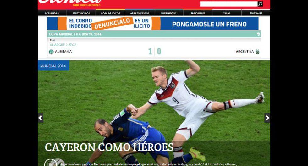 El dolor de Argentina en las portadas de sus diarios - 8