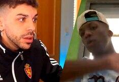 Luis Advíncula se 'enfadó' con famoso youtuber DjMaRiiO y lo dejó hablando solo | VIDEO