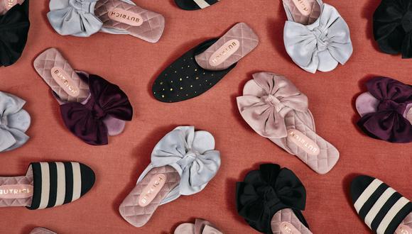 """""""Nuestra línea Slippers Butrich fue creada motivada por la coyuntura. La idea es presentar diseños muy cómodos sin perder el estilo que nos caracteriza"""", sostiene la diseñadora Jessica Butrich sobre sus pantuflas."""
