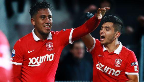 Renato Tapia marcó golazo en Twente de Holanda ante Groningen