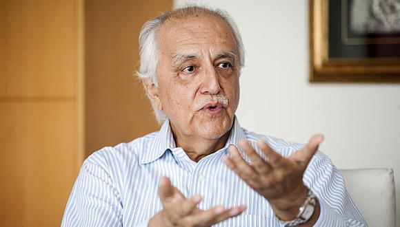 """""""Se requiere un plan nacional de infraestructura"""", afirma Prialé. (Foto: El Comercio)"""