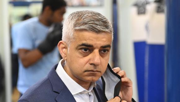 Sadiq Khan, alcalde de Londres. (Foto: EFE)