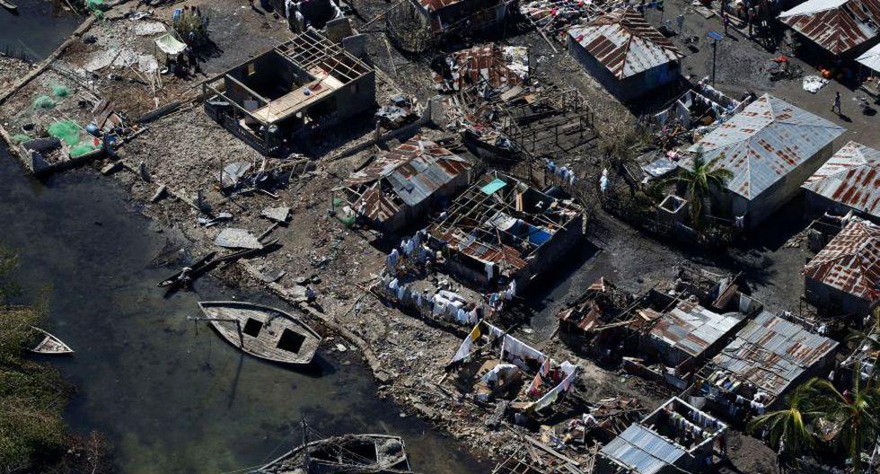 Huracán Matthew: La destrucción en Haití vista desde el aire - 1