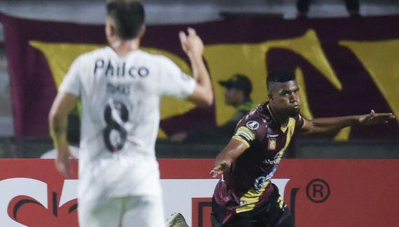 Tolima vs. Paranaense EN VIVO ONLINE vía Fox Sports 3: juegan por el grupo G de la Copa Libertadores. | Foto: AFP