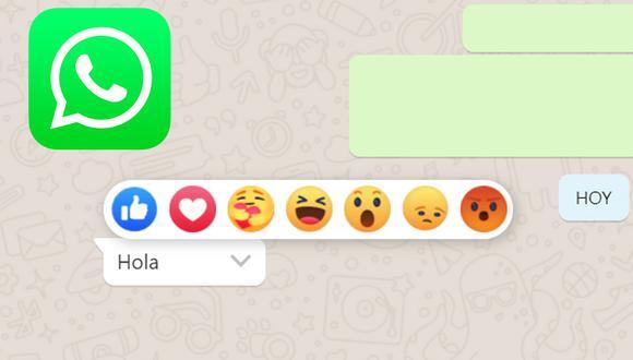 Mira el espectacular truco para tener las reacciones de Facebook dentro de WhatsApp Web. (Foto: Mag)