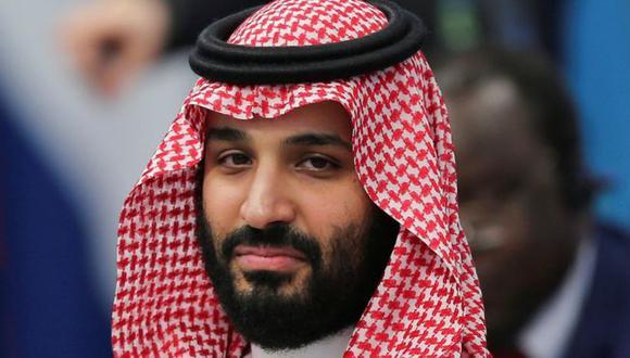 El príncipe heredero Mohamed bin Salman es considerado el líder de facto de Arabia Saudita. (Reuters).